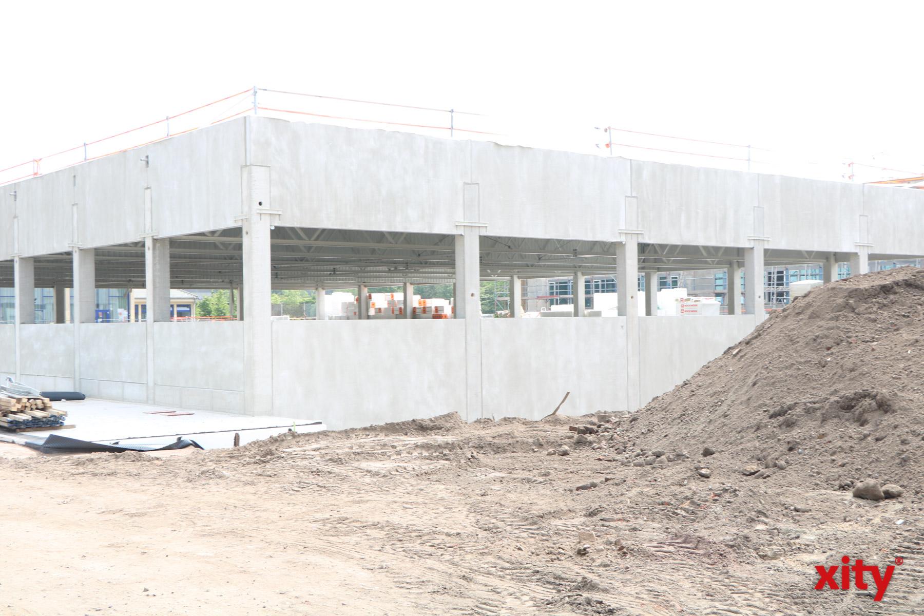In Stockum entsteht ausserdem eine neue Dreifach-Sporthalle in (Foto: xity)