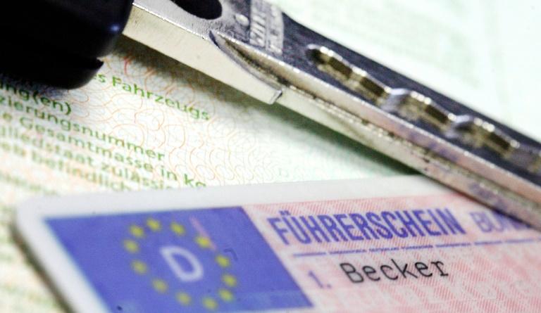 Nur noch 4,4 Millionen junge Leute besitzen einen Führerschein (© 2019 AFP)