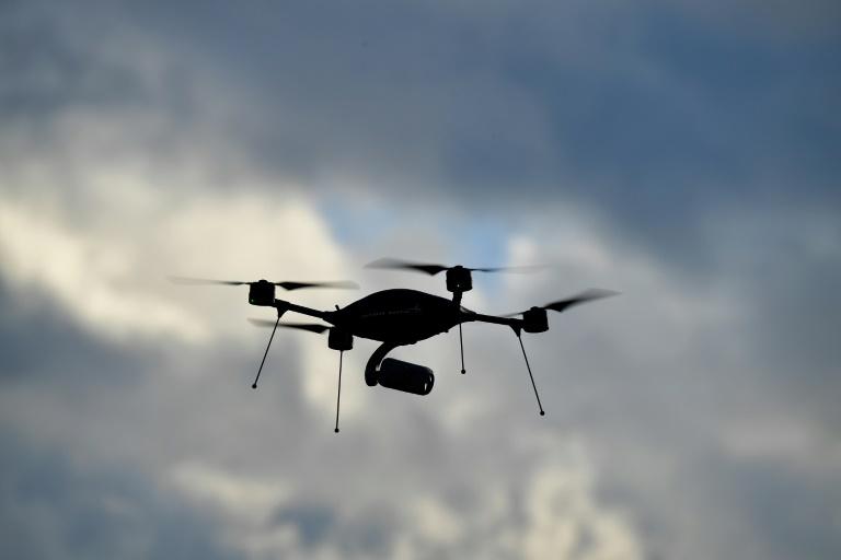 Bundespolizei warnt vor Gefährdung des Luftverkehrs durch Drohnen (© 2019 AFP)