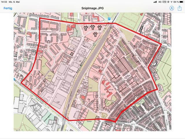 Weltkriegsbombe-Bickendorf Evakuierungsbereich-Map (Quelle: Stadt Köln)