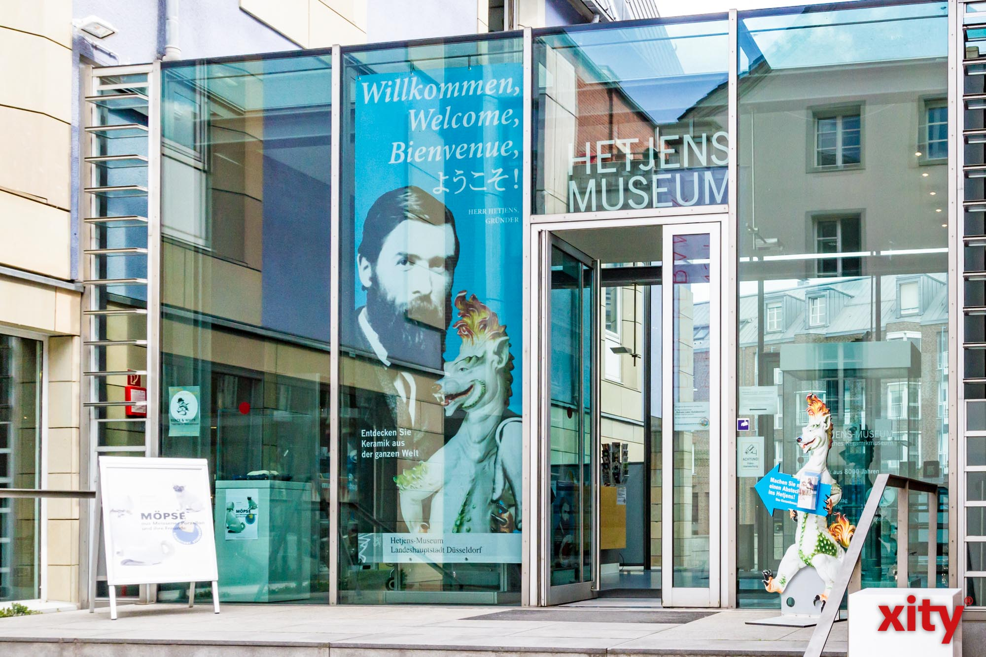 Öffentliche Kuratorenführung im Hetjens-Museum Düsseldorf (Foto: xity)