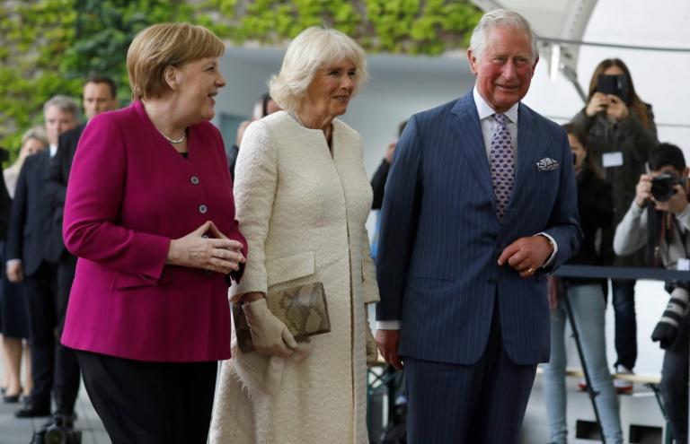 Prinz Charles und Ehefrau Camilla besuchen Leipzig