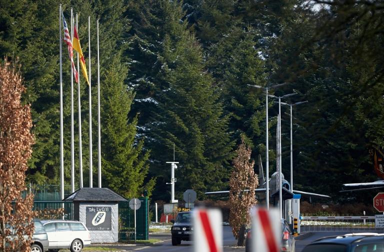 Aachener Friedenspreis für Ukrainer und Netzwerke gegen US-Atomwaffen in Büchel (© 2019 AFP)