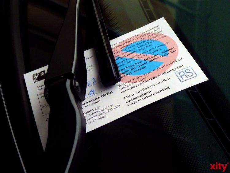 825 kostenpflichtige Verwarnungen wegen Falschparkens wurden geschrieben (Foto: xity)