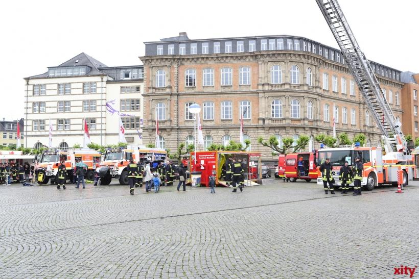 """Unter dem Motto """"Feuerwehr - #WirfuerDuesseldorf"""" beteiligen sich alle Partner des Stadtfeuerwehrverbandes(Archiv-Foto: xity)"""