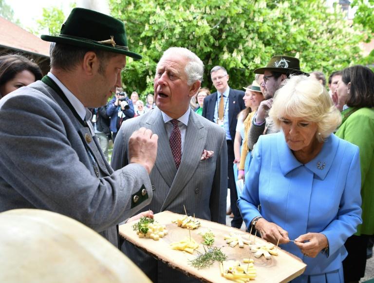Prinz Charles und Camilla beenden Deutschlandreise