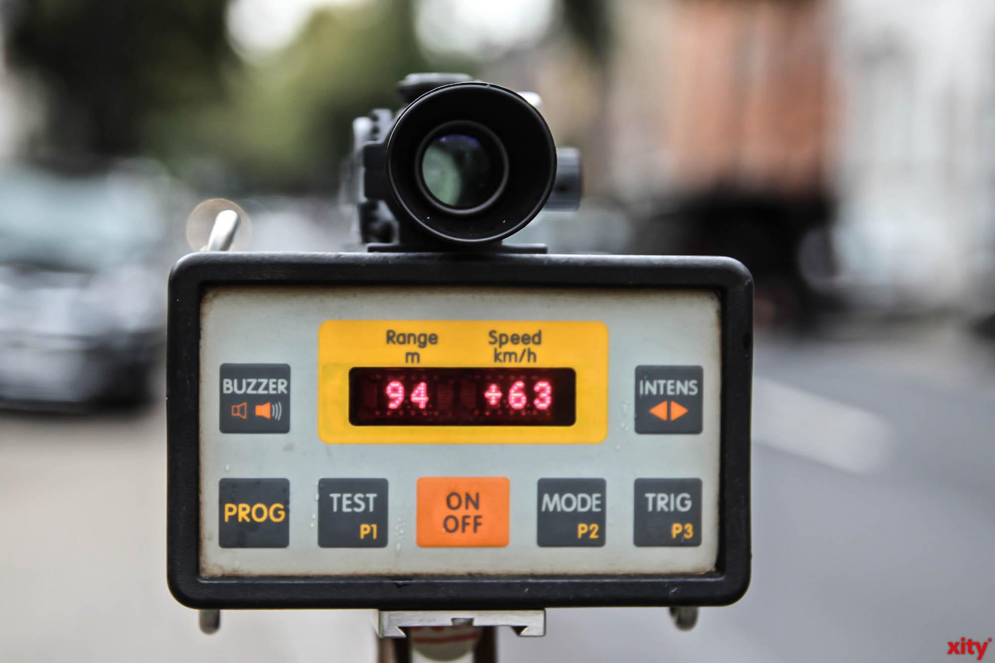 Geschwindigkeitskontrollen der Stadt in der kommenden Woche (Foto: xity)