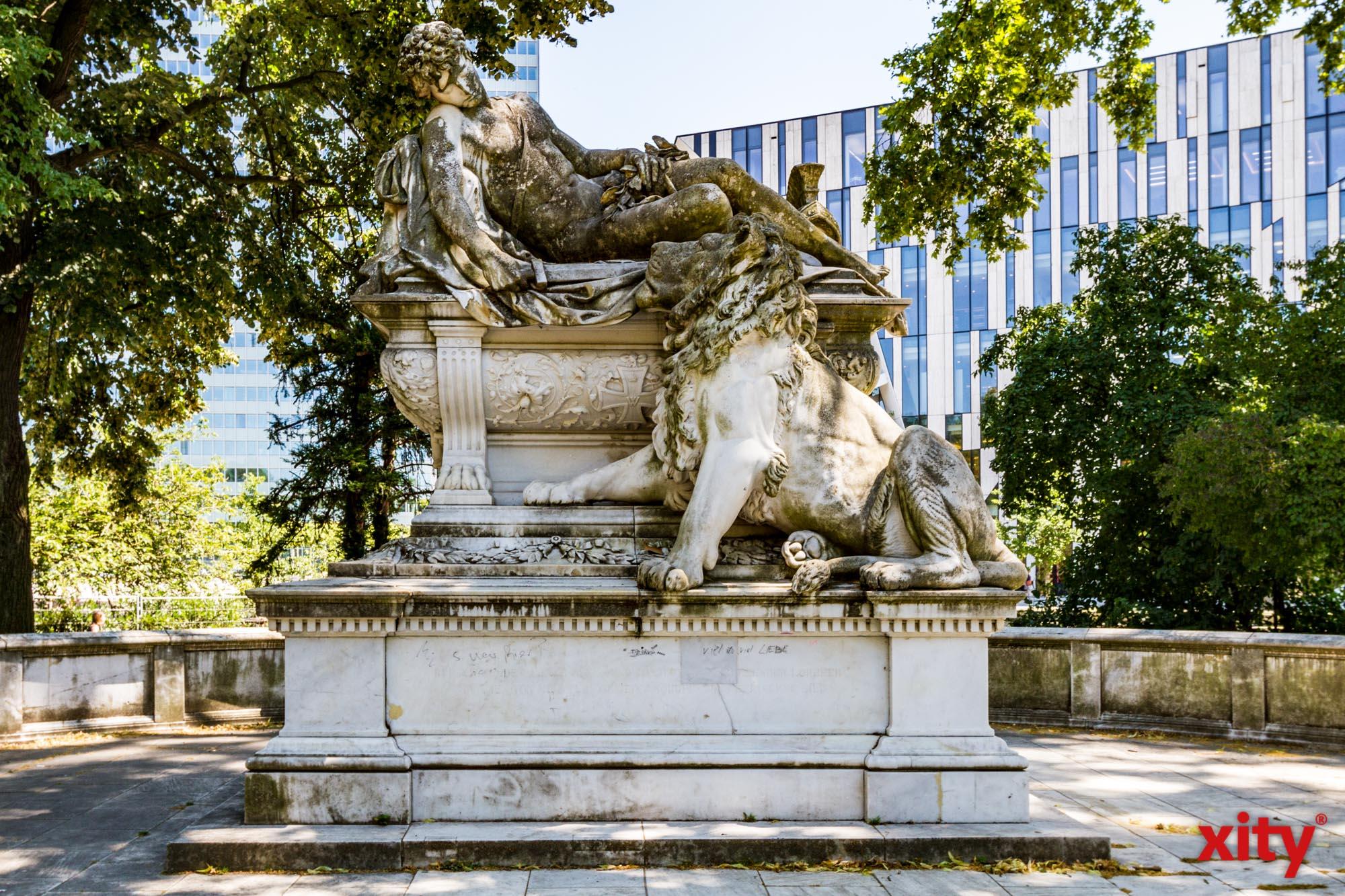 """Unter dem Titel """"Vergangenheit, Gegenwart und Zukunft des Hofgartens"""" gibt Tobias Lauterbach Einblicke in die vielfältige Gestaltung des Hofgartens (Foto: xity)"""