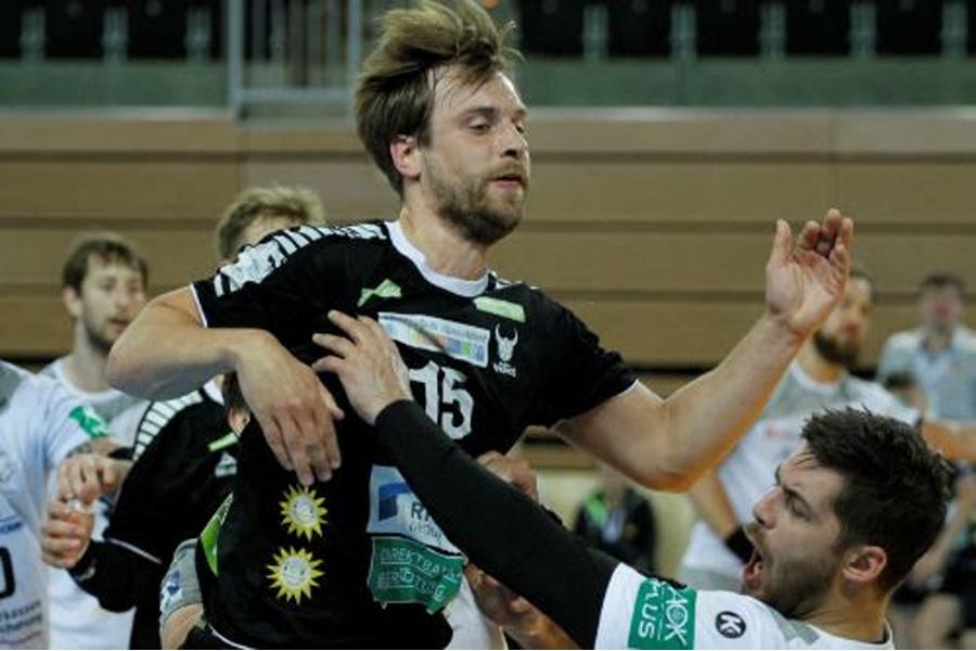 Niklas Weis erzielte bei der HSG Nordhorn-Lingen fünf Treffer (Foto: Rene Haude)