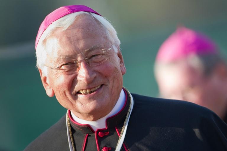 Nach Kritik kein Auftritt von Alt-Bischof Mixa bei AfD (© 2019 AFP)