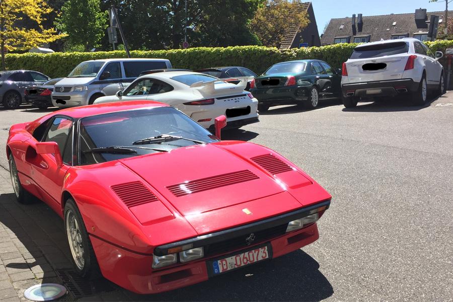 Seltener Ferrari GTO entwendet (Foto: Polizei Düsseldorf)