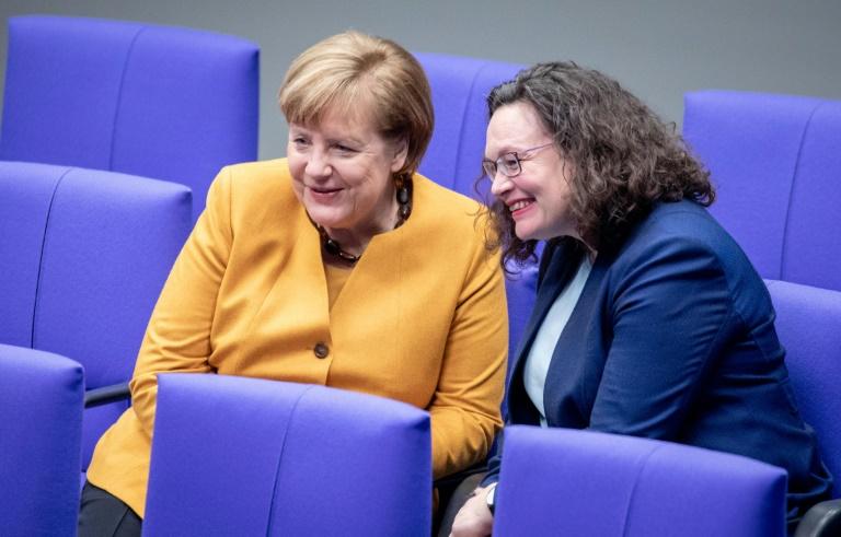 Koalitionsausschuss zu Beratungen im Kanzleramt zusammengekommen (© 2019 AFP)