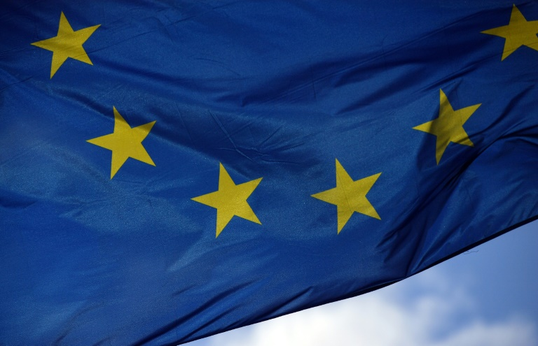 Debatte mit sechs Spitzenkandidaten im Europaparlament (© 2019 AFP)