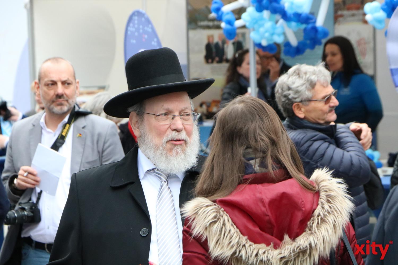 Der Düsseldorfer Rabbiner Raphael Evers im Gespräch (Foto: xity)