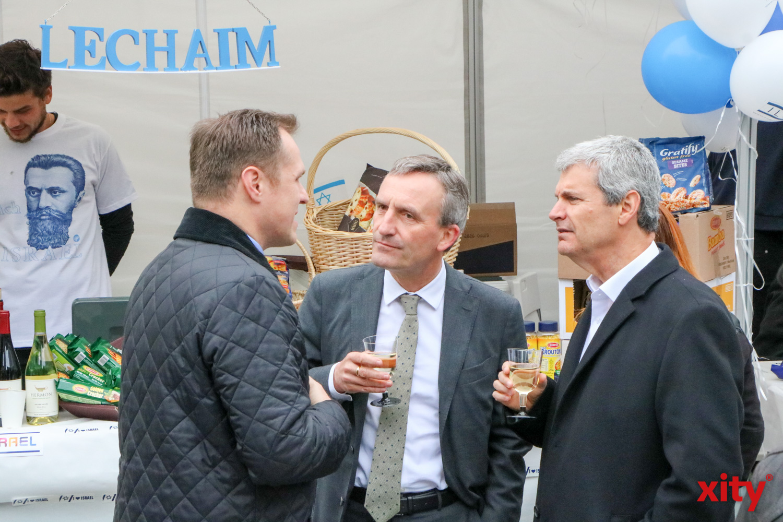 OB Thomas Geisel und Dr. Oded Horowitz, Vorstandsvorsitzender der Jüdischen Gemeinde Düsseldorf (Foto: xity)