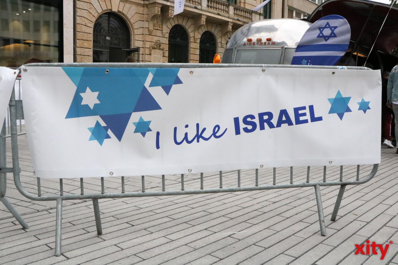"""Unter dem Motto """"I like Israel"""" finden Deutschlandweit zahlreiche Feste zum Israeltag statt (Foto: xity)"""