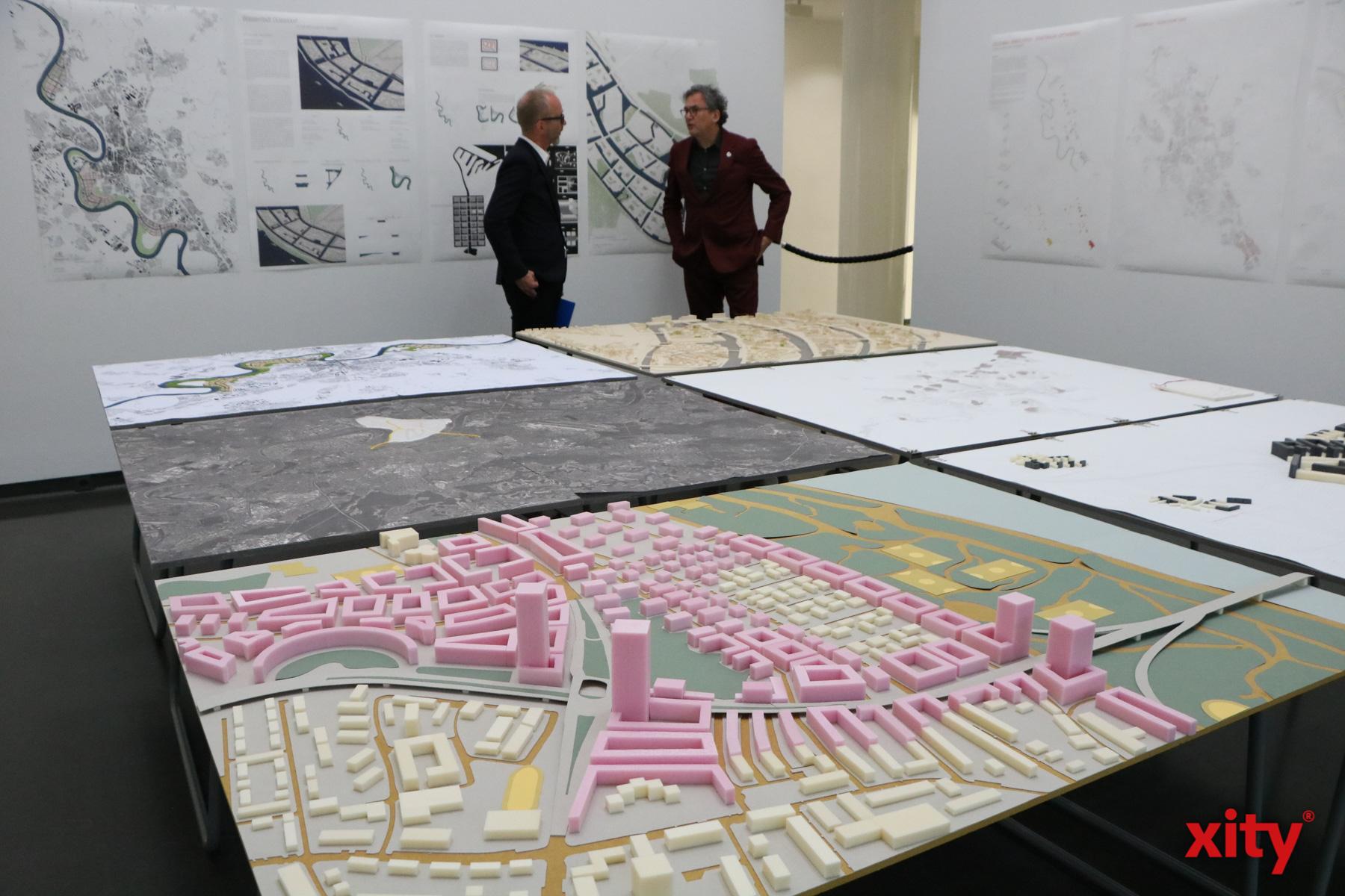 In der Schau soll gezeigt werden, wie Architektur heute gut und bezahlbar entstehen könnte. (Foto: xity)