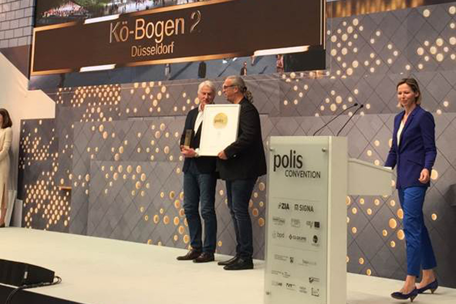 """Verleihung des Polis Award im Rahmen der Messe """"polis Convention"""" in den Böhler-Werken (Foto: Stadt  Düsseldorf)"""
