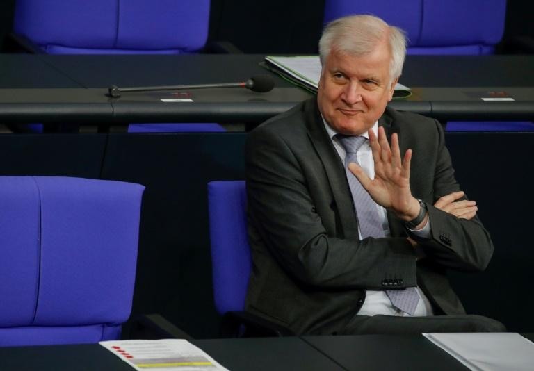 """Seehofer wirbt im Bundestag für """"Geordnete-Rückkehr""""-Gesetz (© 2019 AFP)"""