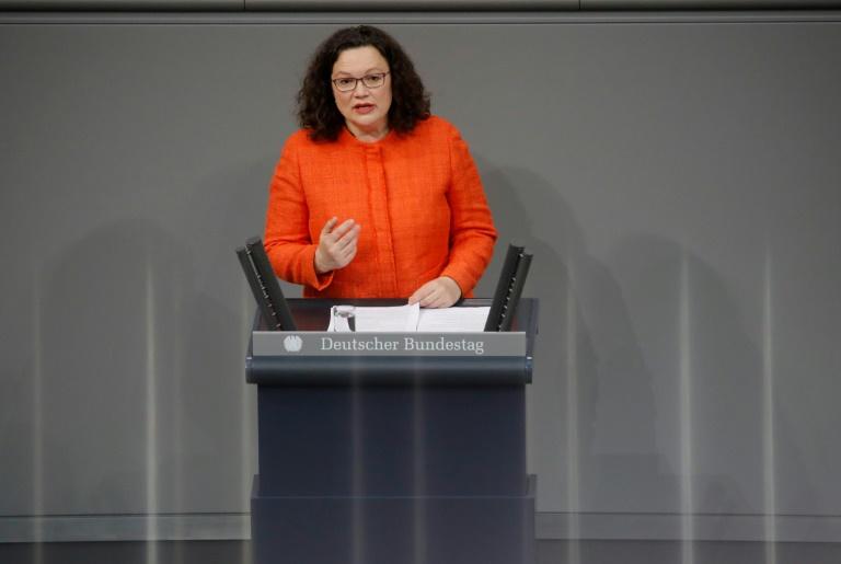 """WamS"": Nahles soll bei Wahlschlappen nicht Fraktionschefin bleiben"