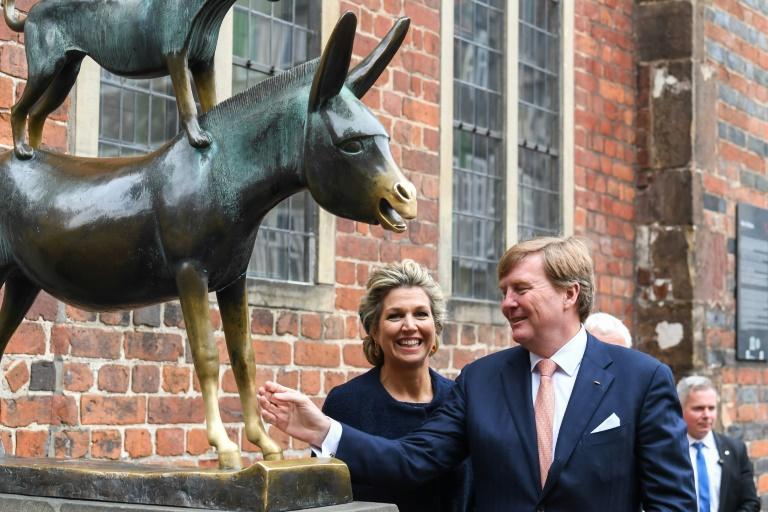 Niederländisches Königspaar kommt nach Mecklenburg-Vorpommern und Brandenburg (© 2019 AFP)
