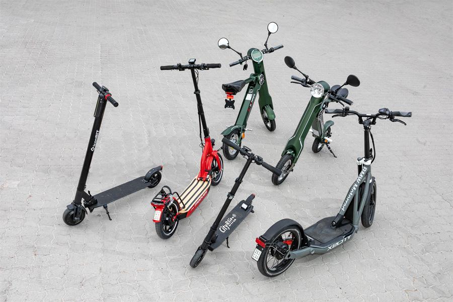 Elektro-Roller für Straßenverkehr freigegeben