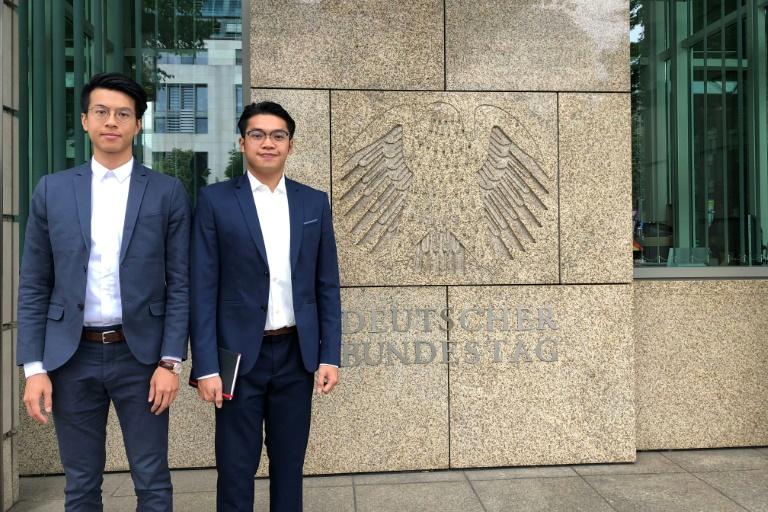 Zwei Unabhängigkeits-Aktivisten aus Hongkong erhielten 2018 Asyl in Deutschland