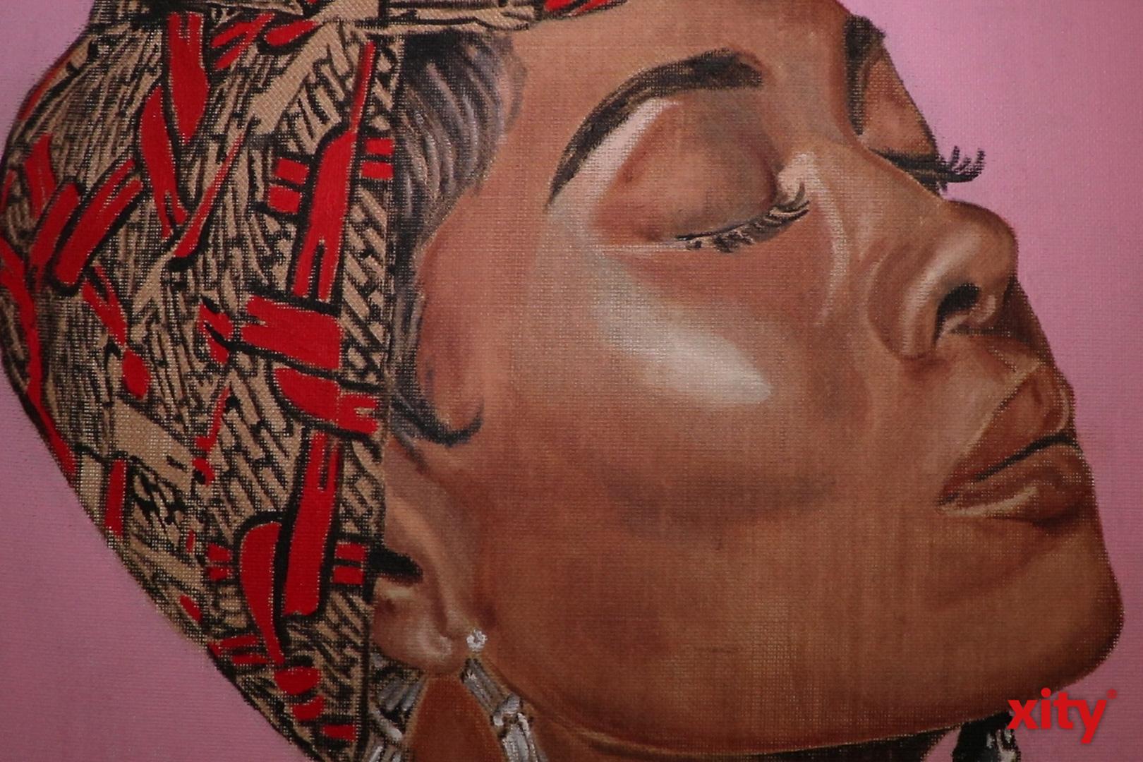 """""""Naomi"""", Elena Panknin, 60cm x 80 cm, Öl auf Leinwand, (Foto: xity)"""