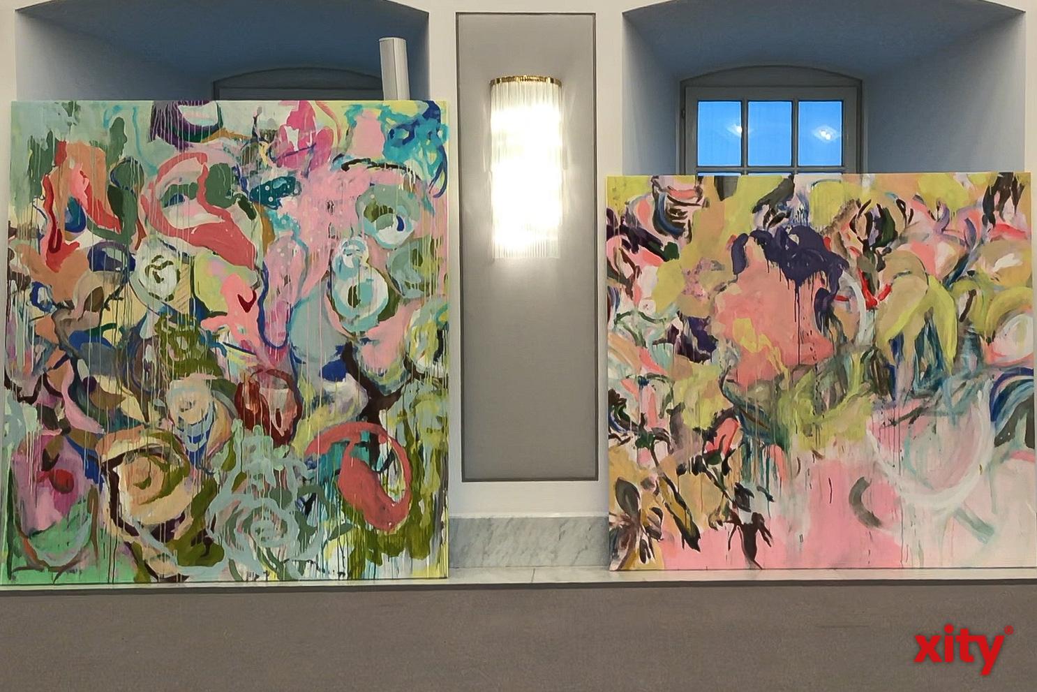 Panknins Stil variiert stark von Portraits zu sehr abstrakten Farbkompositionen (Foto: xity)
