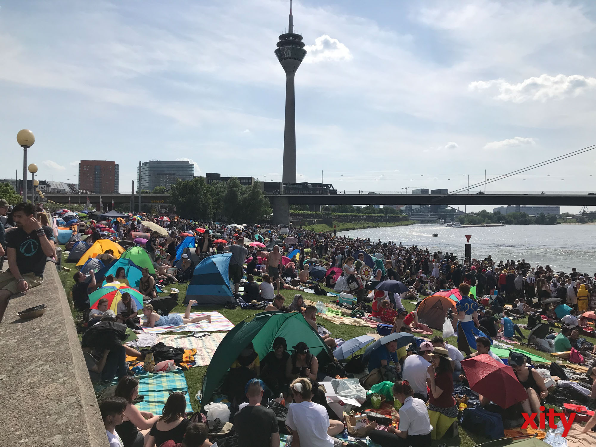 Hunderttausende Japan-Fans werden in Düsseldorf erwartet (Foto: xity)