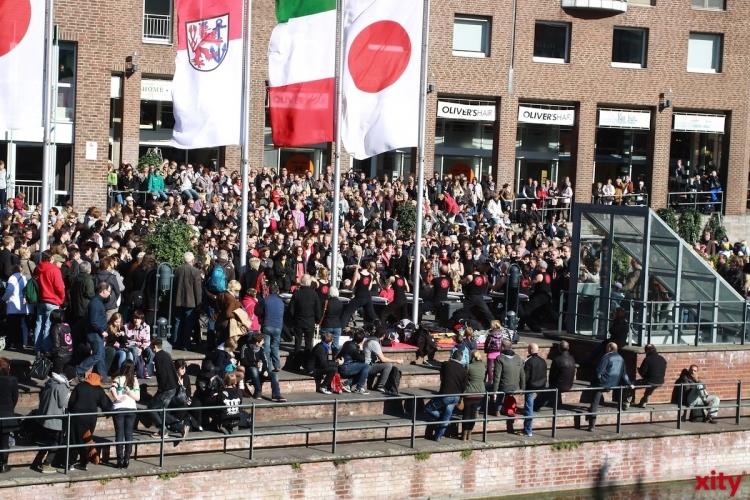 Ein Hauch japanische Kultur weht durch Düsseldorf (Foto: xity)