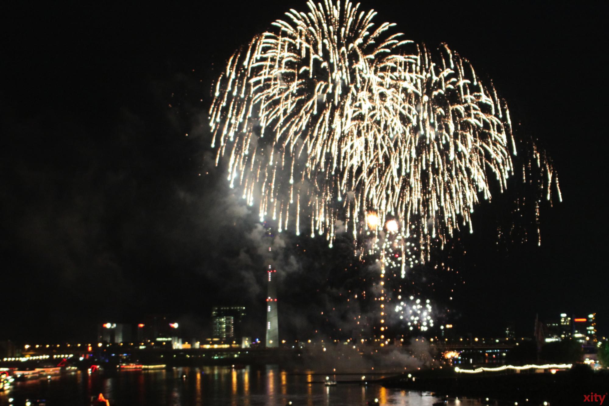 Den Höhepunkt des Festes bildet ein spektakuläres japanisches Feuerwerk (Foto: xity)