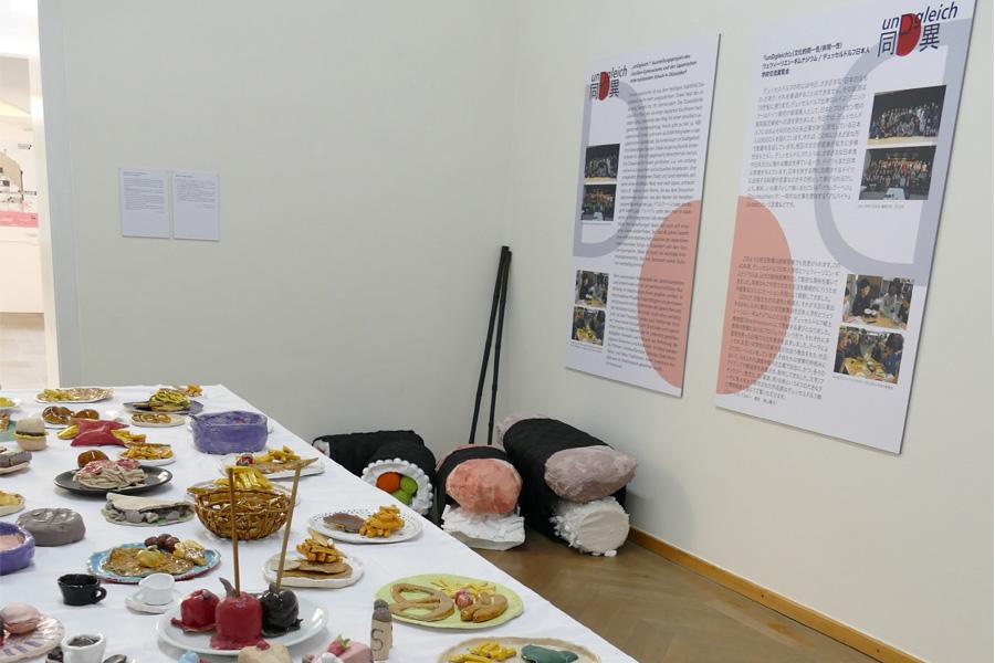 Im Fokus des Ausstellungsprojektes stehen die Themen: Literatur, Fantasie, Esskultur, Stadt, Architektur und Feste/Traditionen (Foto: Stadtmuseum/Cecilien-Gymnasium/Japanische Internationale Schule)