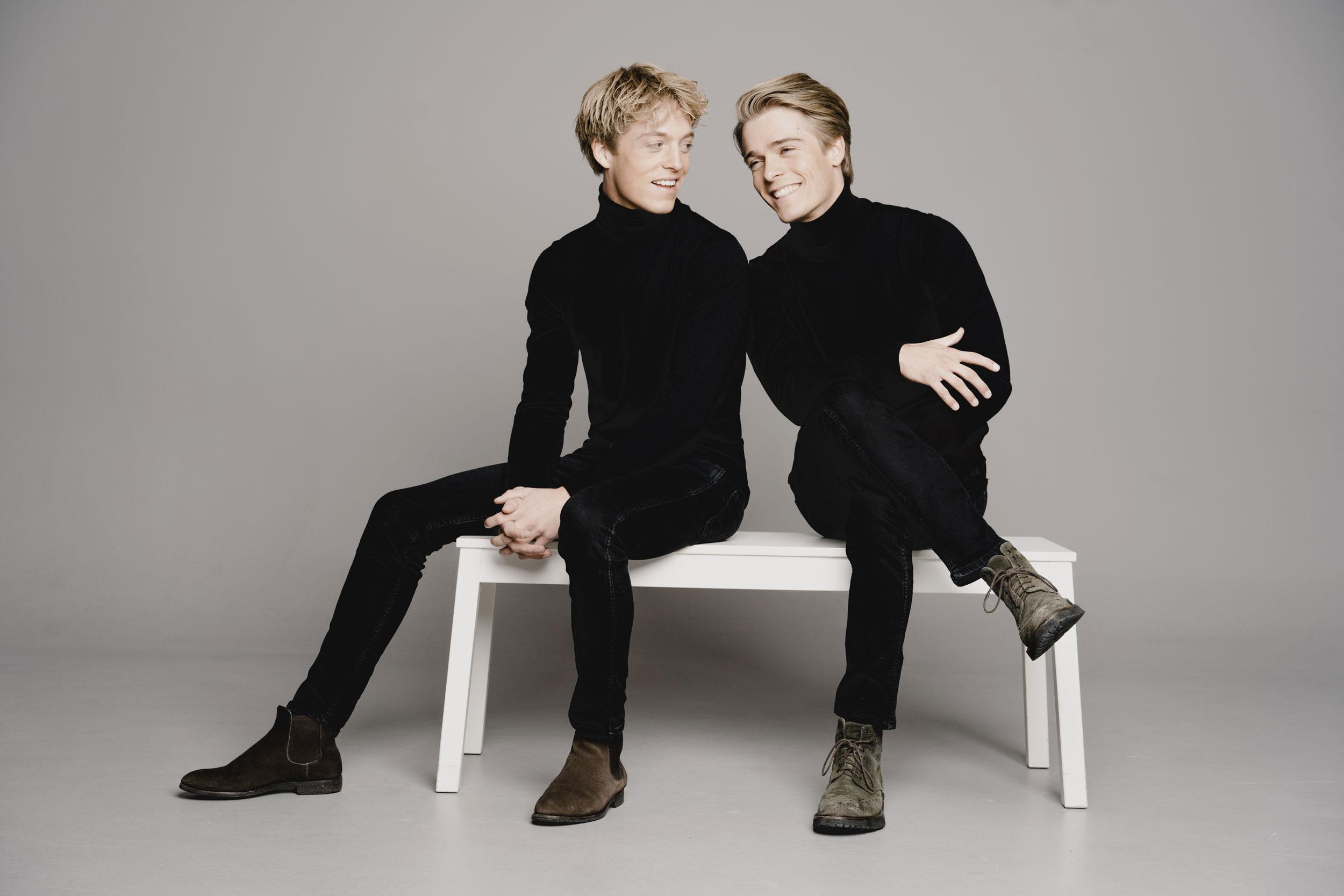 Lucas und Arthur Jussen (Foto: Marco Borggreve)