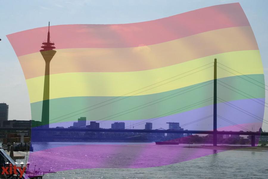 Am Wochenende steigt in Düsseldorf der 16. Christopher Street Day (Foto: xity)