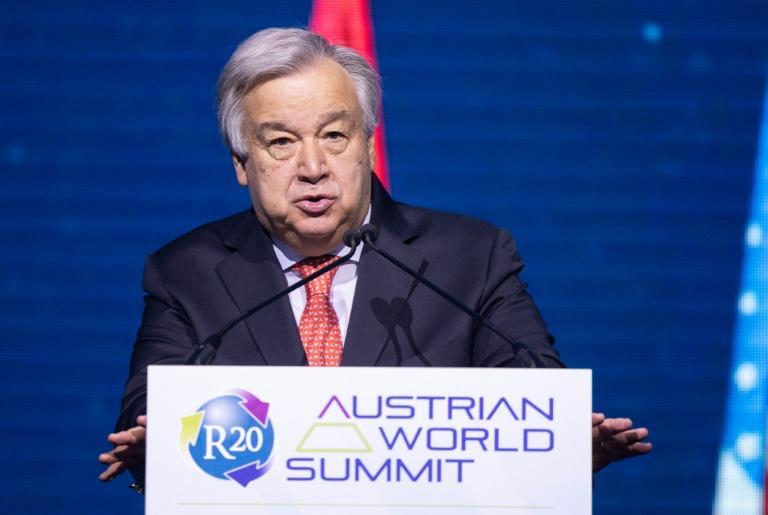 UN-Generalsekretär Guterres erhält Internationalen Karlspreis (© 2019 AFP)