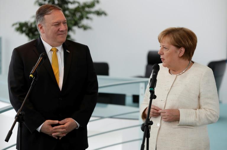 Merkel betont enges Verhältnis zu den USA (© 2019 AFP)