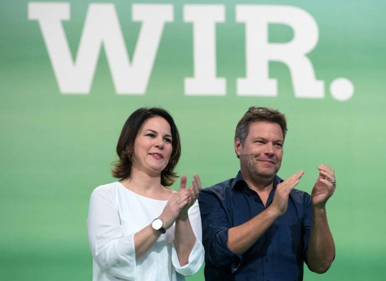 Grüne überholen in Umfrage erstmals CDU/CSU (© 2019 AFP)
