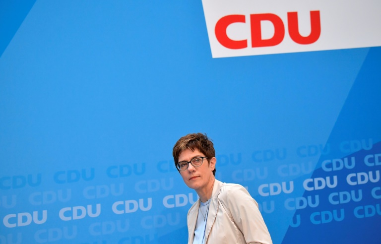 CDU steht nach Nahles-Rückzug zur großen Koalition (© 2019 AFP)
