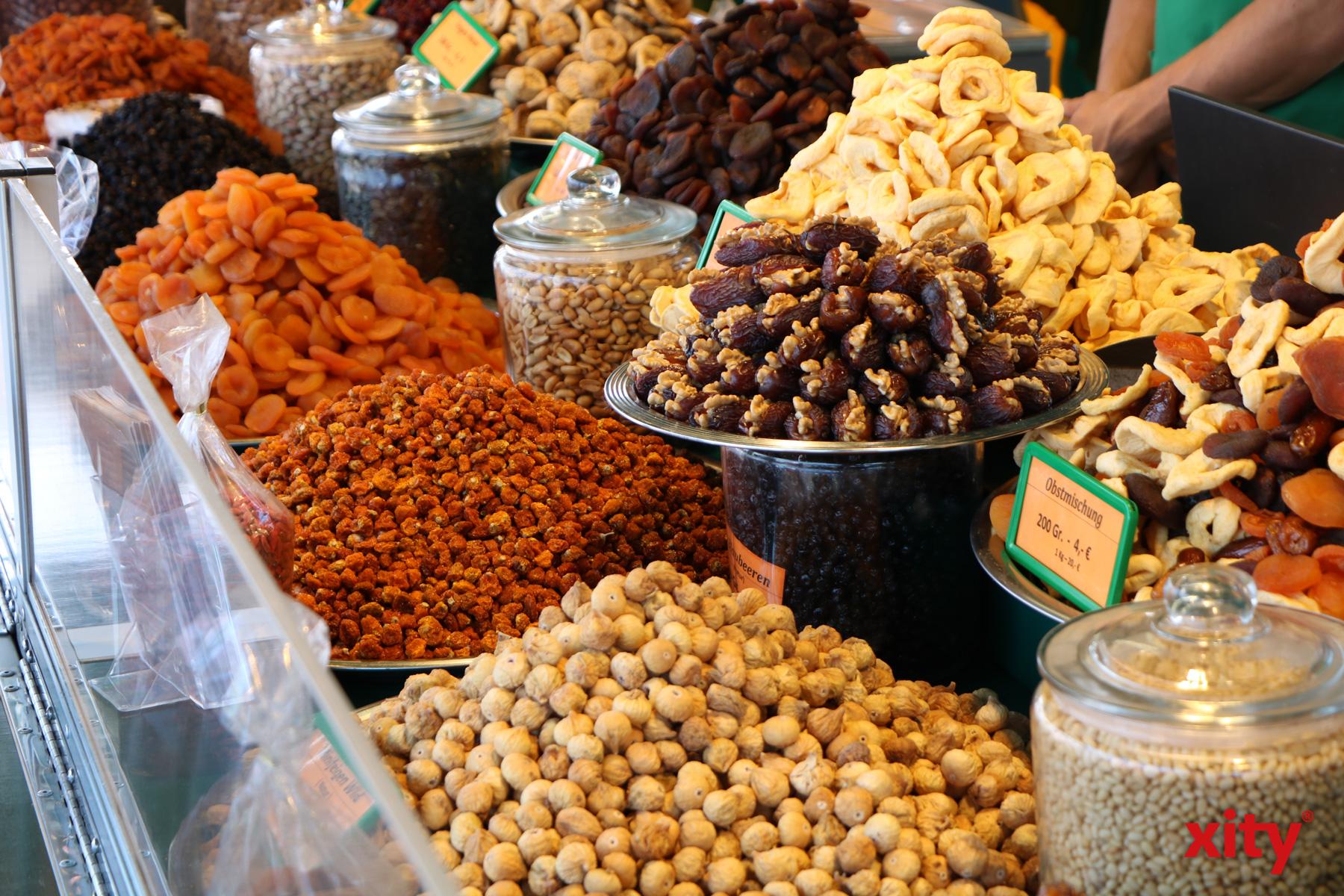 Eine Auswahl an Trockenfrüchten (Foto: xity)