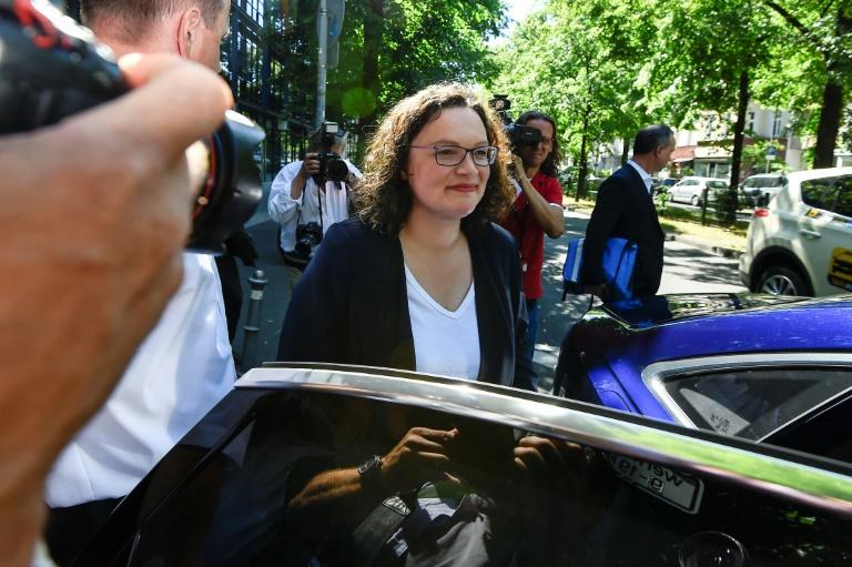 SPD erwägt vorerst Dreier-Spitze für Parteivorsitz (© 2019 AFP)