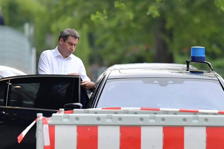 Söder fordert klare Entscheidung von SPD über Verbleib in der GroKo (© 2019 AFP)