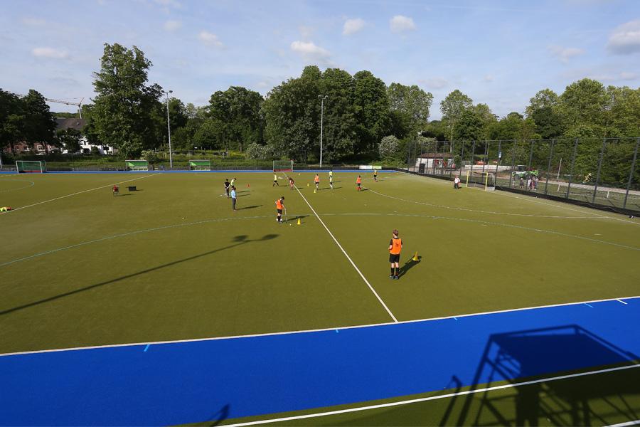 Die Sportanlage des Deutschen Sportklubs Düsseldorf wurde umfangreich saniert (Foto: Stadt Düsseldorf/David Young)