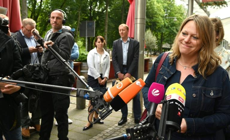 Optimismus bei CDU und FDP nach erstem Dreiergespräch über Jamaika in Bremen (© 2019 AFP)