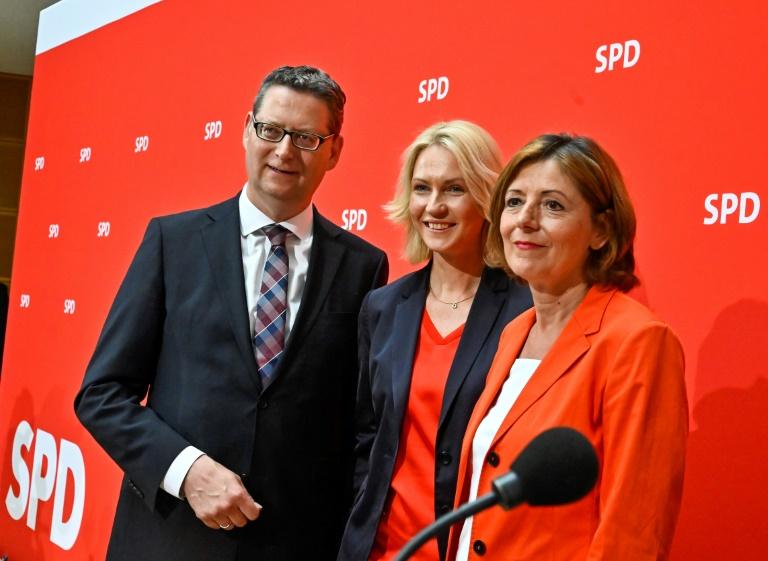 Neues SPD-Führungstrio soll Übergangsprozess gestalten (© 2019 AFP)