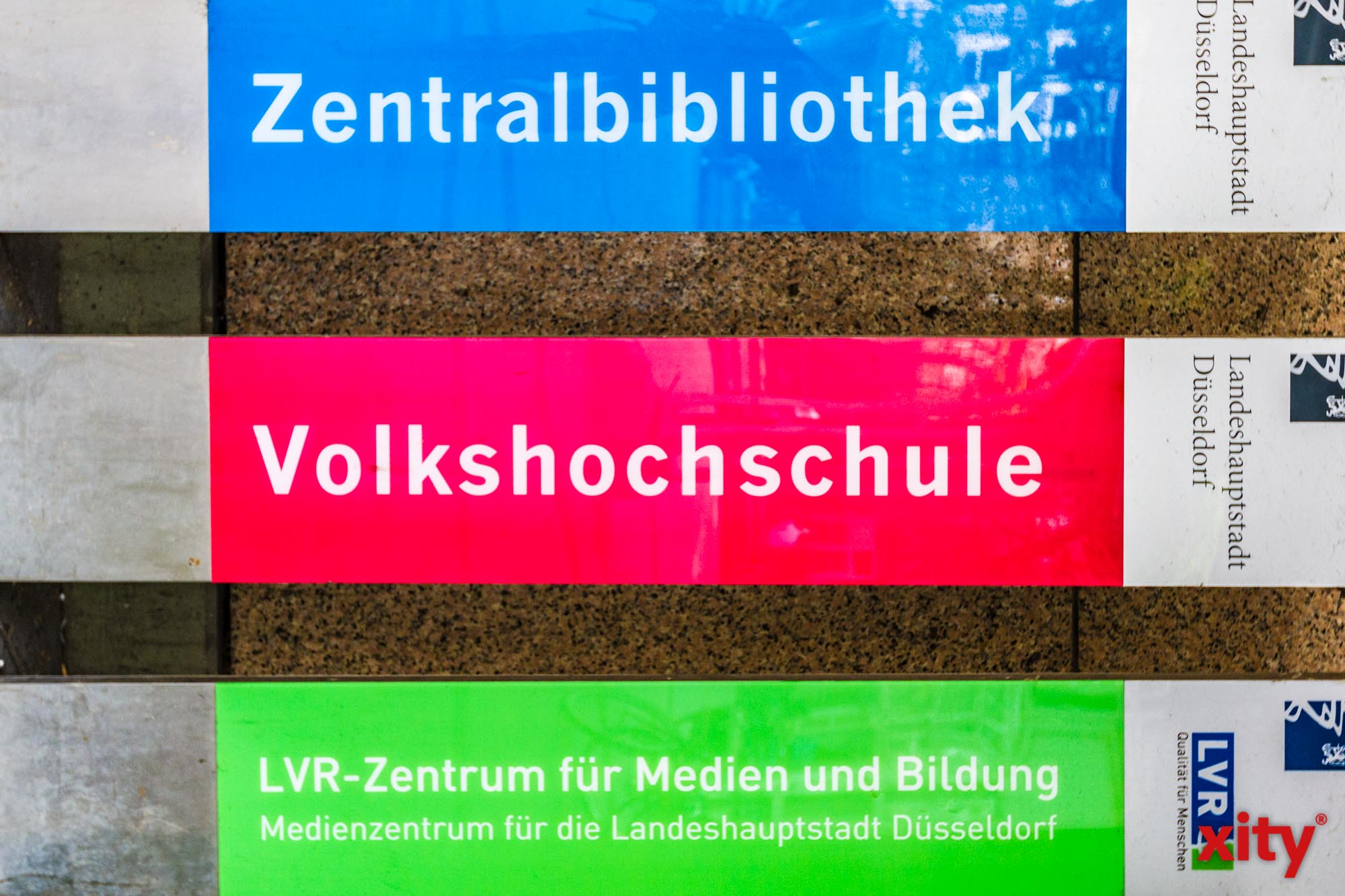 Lesung mit Jonas Baeck in der Zentralbibliothek Düsseldor(Foto: xity)