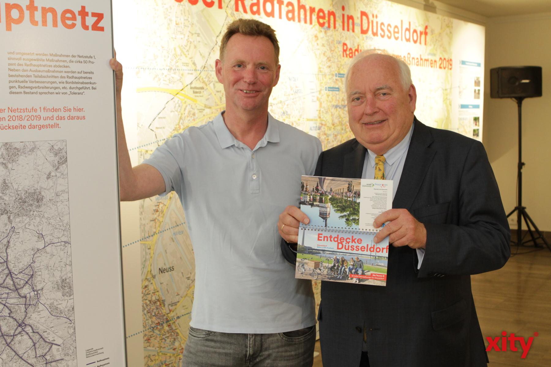 Ingo Pähler (l.) und Bürgermeister Friedrich G. Conzen (Foto: xity)
