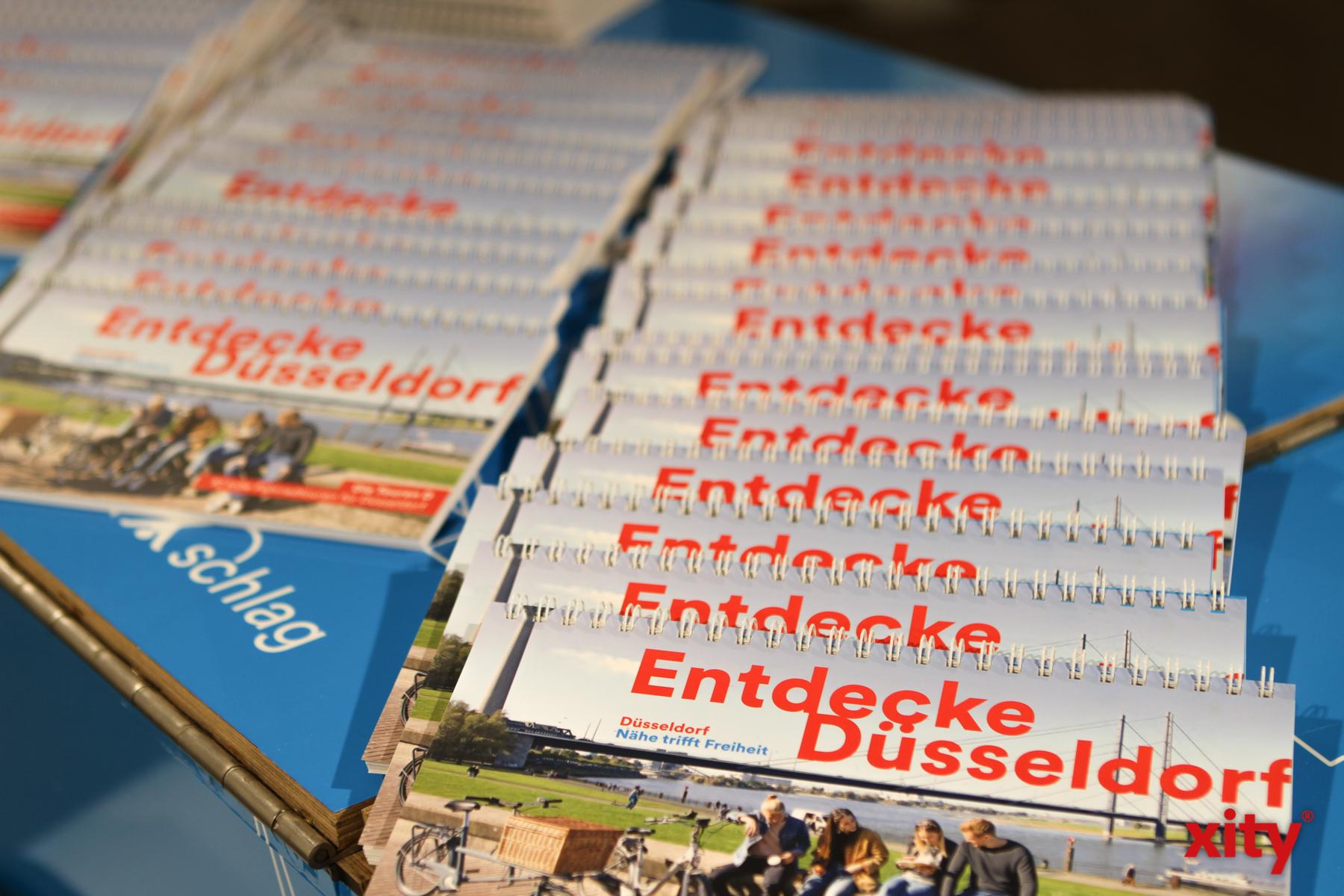 Jede Menge Infomaterial gibt es für die Besucher der Ausstellung  (Foto: xity)