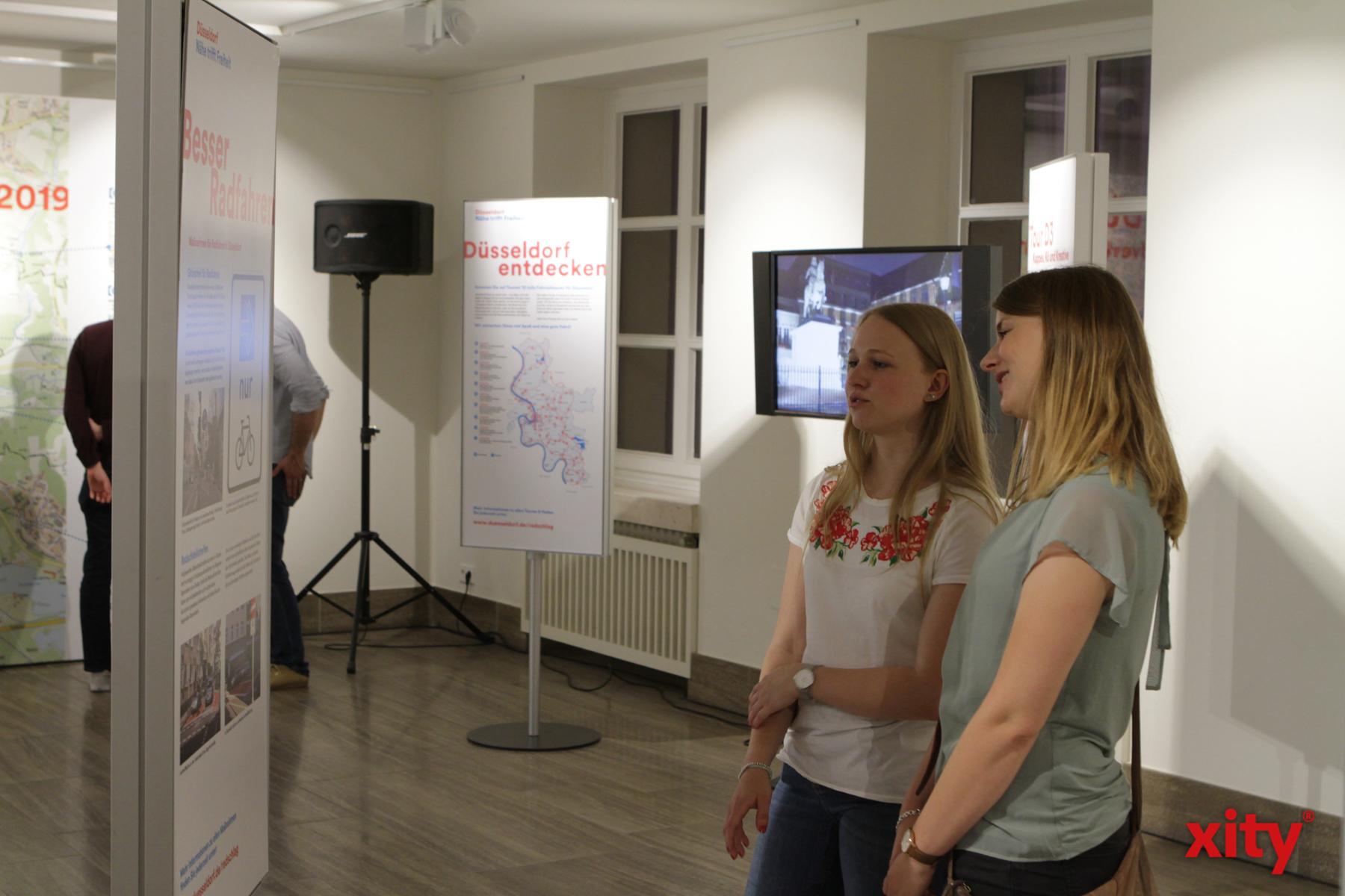 Im Rathaus werden Infos zum Ausbau des Radnetzes vorgestellt  (Foto: xity)