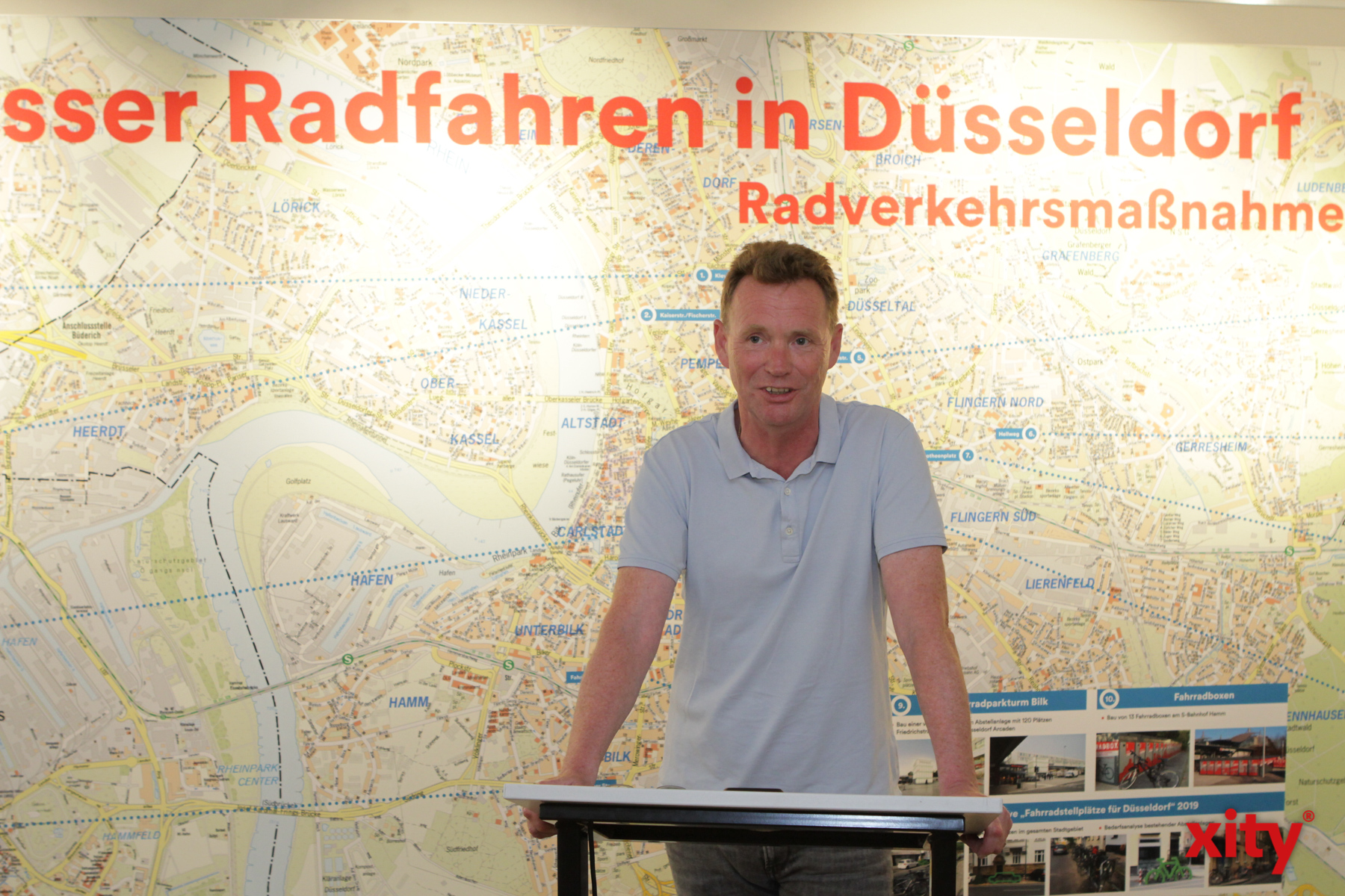Ingo Pähler, Leiter des Amts für Verkehrsmanagement der Landeshauptstadt Düsseldorf (Foto: xity)
